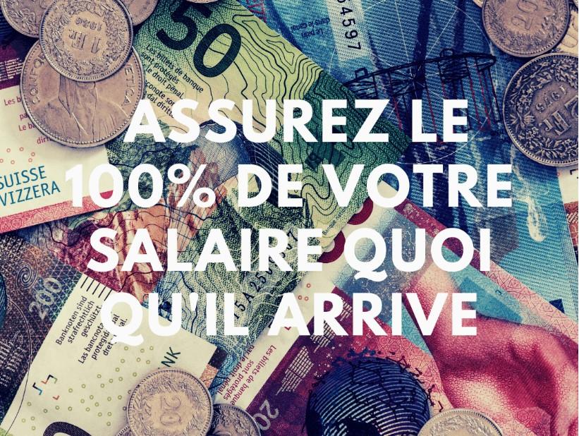 Protection du revenu – Assurez le 100% de votre salaire