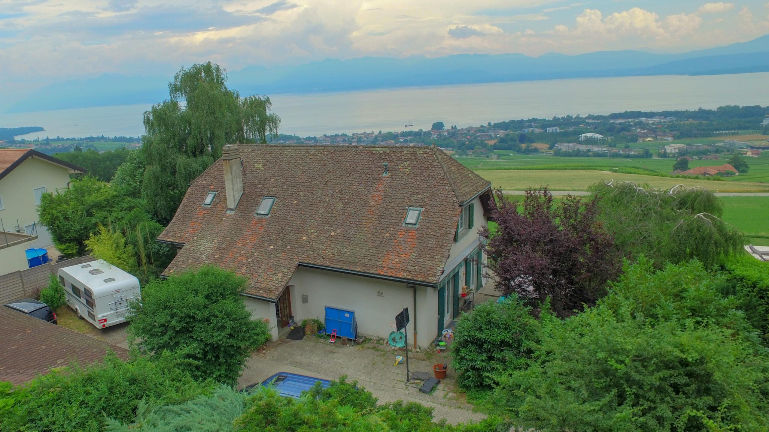 Magnifique villa de maître à Essertines-sur-Rolle