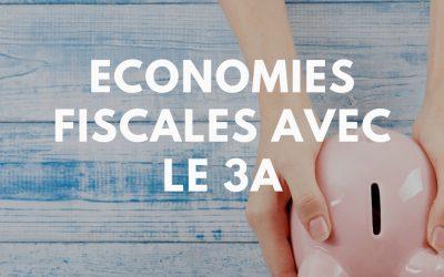 Prévoyance – Economies fiscales avec le 3a