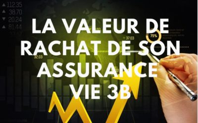 Assurance – La valeur de rachat de son contrat d'assurance vie 3B