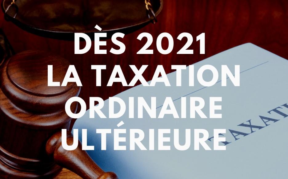Impôt à la source et la taxation ordinaire ultérieure (TOU)